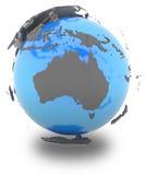 Australia on Earth Stock Photography