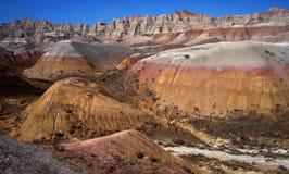 Australia: El Grampians cerca de la ciudad del minero de Coober Pedy Opal en el interior fotografía de archivo