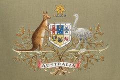 Australia Emblem Stock Photo