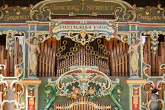 Australia Fair Grand Concert Street Organ Royalty Free Stock Photography
