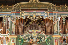 Australia Fair Grand Concert Street Organ Stock Photography