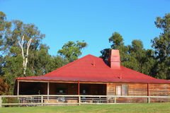 Australia farm building Royalty Free Stock Image