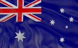 australia flagę Obywatel flagi światowy kraju kręcenie ilustracja wektor
