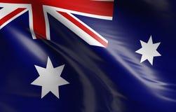 australia flagę Obraz Stock
