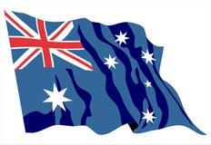 Australia flag Stock Image
