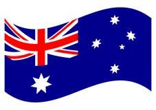 australia flagę Zdjęcia Royalty Free