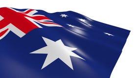 australia flagę Obraz Royalty Free