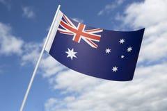 Australia flag Stock Photos