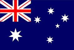 Australia flag. Australia flag  . Australia national flag Stock Photos