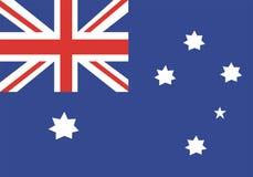 australia flaga Zdjęcia Stock