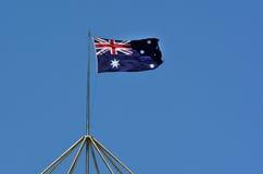 australia flagi krajowe Zdjęcia Royalty Free