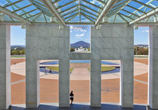 australia forecourt domu parlament Obraz Royalty Free
