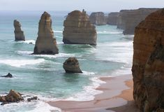 australia formacj skała Zdjęcia Royalty Free