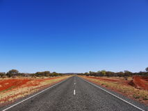 Australia, Highway. Road. Royalty Free Stock Images