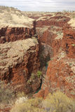 australia karijini parka pilbara obraz royalty free