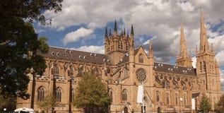 australia katedralny marys st Sydney Obraz Royalty Free