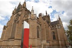 australia katedralny marys st Sydney Obrazy Stock