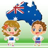 Australia kids Royalty Free Stock Photo