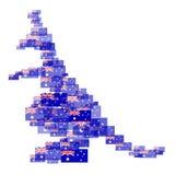Australia kraju kontynent Zdjęcia Royalty Free
