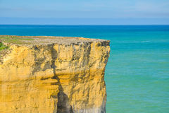 Australia Landscape : Great Ocean Road. A cliff on the ocean Stock Images
