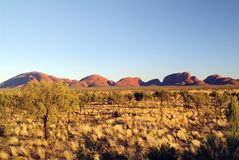 Australia, NT, Olgas, Stock Photo