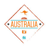 Australia logo vector Stock Photography