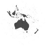 Australia map background vector, illustration for Royalty Free Stock Images