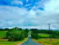 Australia@Melbourne~Greant hav Road~ arkivbilder
