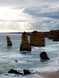 Australia Melbourne Ocean Road,. Australia, Melbourne, Ocean Road, view of the twelve apostles royalty free stock photo