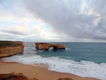 Australia Melbourne Ocean Road,. Australia, Melbourne, Ocean Road, view of the twelve apostles royalty free stock photos