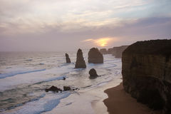 Australia Melbourne Twelve Apostles. Sea stock image