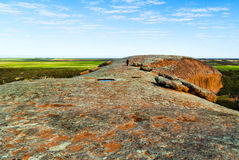 Australia Meridionale della roccia di Pildappa Immagini Stock Libere da Diritti
