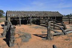 Australia, Mungo National Park, granja de Zanci foto de archivo libre de regalías