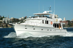 australia na łodzi Obrazy Stock