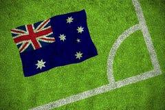 Australia national flag Royalty Free Stock Photos