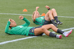 Australia national team. FIFA Women's World Cup Royalty Free Stock Photos
