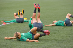 Australia national team. FIFA Women's World Cup Royalty Free Stock Photo