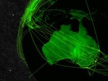 Australia network Stock Image