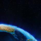 Australia and New Zeland Royalty Free Stock Images