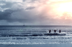 Australia, Noosa coastline Royalty Free Stock Photos