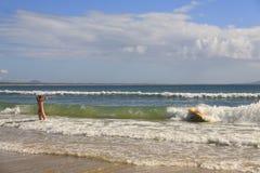 Australia Noosa coastline Stock Photo