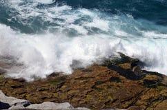 Australia, NSW, Sydney, breakers on shore Royalty Free Stock Image