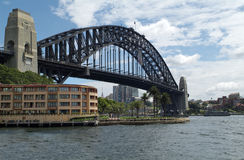 Australia, NSW, Sydney. Australia, harbour bridge in Sydney Stock Image