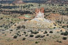 Australia, NT, Chambers Pillar royalty free stock photography