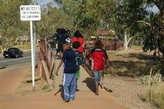 Australia, NT, Alice Springs, Fotografia Stock