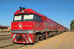 Australia, NT, The Ghan royalty free stock photos