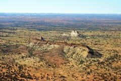 Australia, NT, Outback, Chambers Pillar stock photo