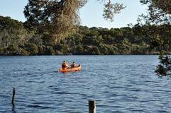 Australia occidental Canoeing Fotos de archivo