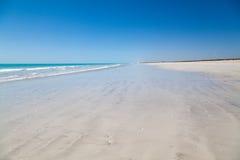 Australia occidentale della spiaggia da ottanta miglia Immagini Stock