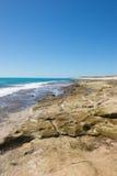 Australia occidentale di Exmouth della costa della scogliera di Ningaloo immagini stock libere da diritti